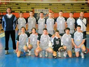 """OK """"UŽICE"""" - osvajači Kupa Zlatiborsko-Moravičkog okruga 2007/08"""