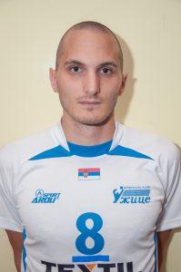 Jedina svetla tačka u ekipi Užica - Nemanja Lazić (kap)