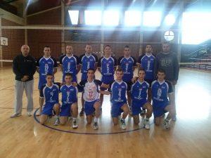 """Ekipa OK """"UŽICE"""" uoči utakmice u Prijepolju"""